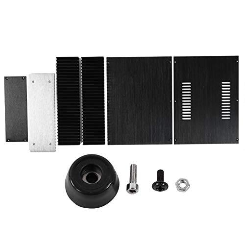 May Gifts Capa para amplificador de liga de alumínio resistente à oxidação, resistência à corrosão, peça única, para TV de vídeo