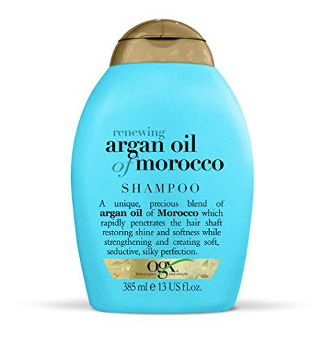 OGX - Champú Aceite de Argán para restaurar y fortalecer el cabello, 385 ml
