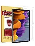 OMOTON [2 Stück] Panzerglas Schutzfolie für Samsung Galaxy Tab S7 Plus [12.4 Zoll], 9H Festigkeit, Anti-Kratzer, Anti-Bläschen