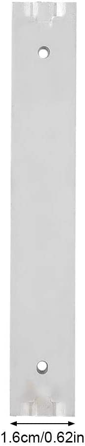 gu/ía Deslizante Suave 2 Piezas//Juego de aleaci/ón de Aluminio Mini gabinete de caj/ón Length 70mm BuyWeek Gu/ía Deslizante del caj/ón