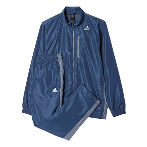 adidas TS Basic Herren Sportanzug Trainingsanzug Suit, Bekleidungsgröße:L