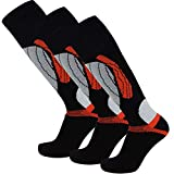 PureAthlete Elite Wool Race Ski Socks - Warm...