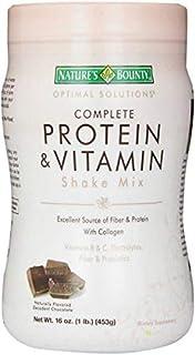 نيتشرز باونتي، أوبتيمال سولوشنز، خليط شيك بروتين كامل وفيتامين، شوكولاته معتّقة 16 أوقية (33 غرام)