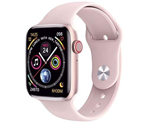"""KSIX Urban 2 Rosa Dorado Smartwatch 1.75"""" 44mm IPS Bluetooth Ritmo Cardíaco 24h y Monitor de Sueño"""