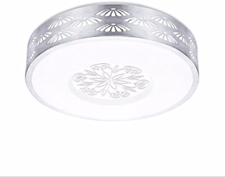LED Weiß Light Deckenlampe Silberne Seite Aluminiumrahmen Für Wohnzimmer, Schlafzimmer, Studie Und Andere Lichtquelle 24W 36W,M