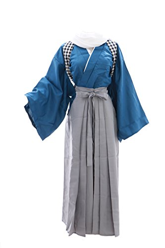 Kawaii-Story MN de 11Azul Gris yamat onokami yasusada Touken Ranbu Kendo Kimono Cosplay Costume