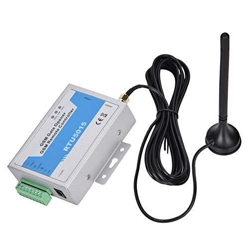 Operador de puerta RTU5015 GSM Operador de puerta de puerta con SMS Control remoto Aplicación de alarma compatible Operador de 110-240 V mediante alarma de teléfono móvil (EU)