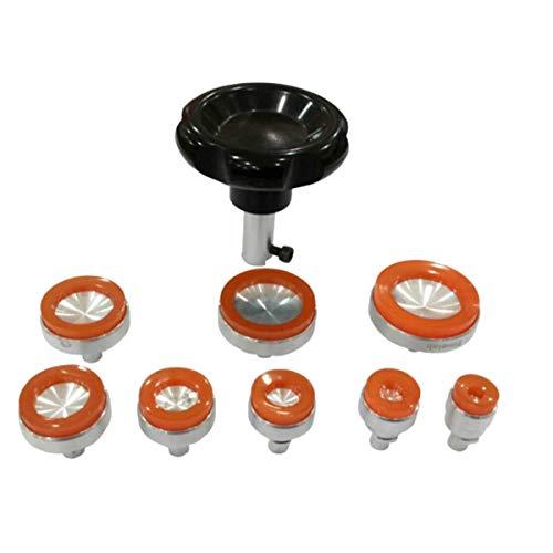 Unterdruck-Gehäuseöffner Set für Uhren mit Handrad BULLONGÈ Vide-8 - Uhrmacherwerkzeug