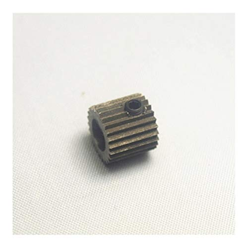 Apricot blossom 1pc Zortrax M200 3D Printer Spare Parts/accessories Extruder Drive Gear Feed Gear