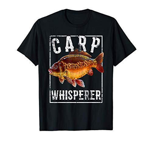 Carp Whisperer. gift for Carp fisherman T-Shirt