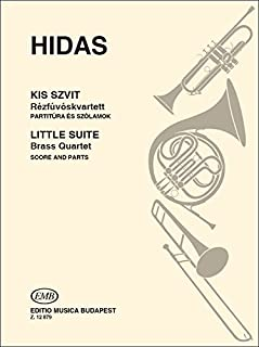 Kleine suite fur drei trompeten und posaune musique d'ensemble