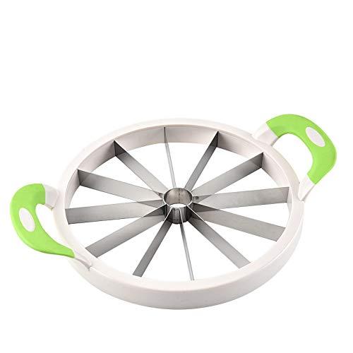 Wjfijz Fruit cutter Kitchen Watermelon Slicer Stainless Steel Practical Tools S