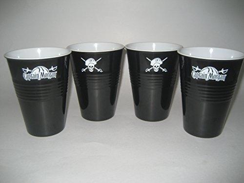 Captain Morgan 473 ml Captain Morgan Tassen-Set, 4 Stück