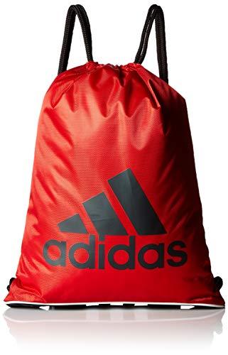 adidas Unisex Burst Sackpack, Scarlet/Black/White, ONE SIZE