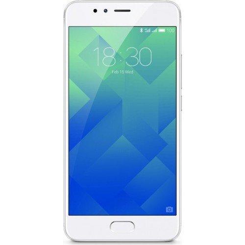 Meizu M5 Note - Smartphone de 5.5  (Octa-Core A53 1.8 GHz, Memoria Interna de 32 GB, 3 GB de RAM, HD 720p), Plateado Blanco