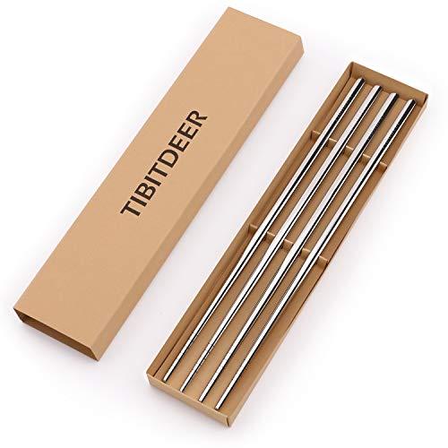 Tibitdeer - Juego de 2 palillos de titanio (2 pares de palil