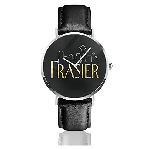 腕時計 メンズ レディース Frasier フレイジャー 生活防水 シンプル 超薄型 軽量 男女兼用 懐中時計 母の日 人気