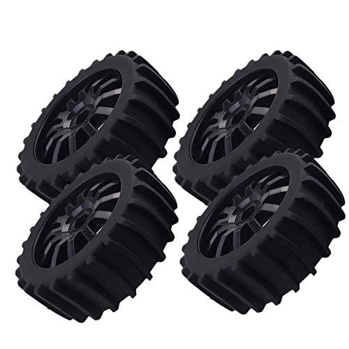 4 stücke Schnee Sand Paddel Reifen Reifen Rad für 1/8 RC Buggy Off Road, HSP HPI Baja
