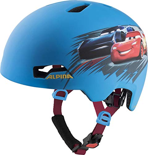 ALPINA HACKNEY DISNEY Fahrradhelm, Kinder, cars, 51-56