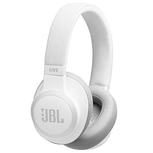 JBL LIVE 650BTNC - Auriculares Inalámbricos con Bluetooth y cancelación de ruido, sonido de calidad JBL con asistente de voz integrado, hasta 30h de música, Azul