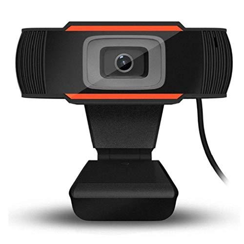 Webcam con micrófono, cámara Web del Ordenador Streaming con 120 Grados de ángulo de visión Amplio, USB PC cámara Web para Video Llamadas de Conferencia de grabación