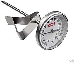 Termómetro De Leche De Lectura Instantánea Con Sonda Larga (paquete De 2), Termómetro De Cocción De Alimentos Para Asar Parrilla Barbacoa