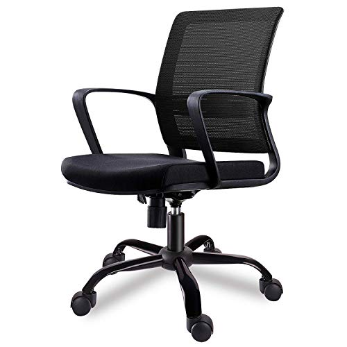 Smugdesk Mid-Back Big Ergonomic Office Lumbar Support Mesh...