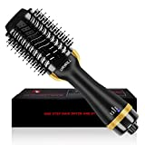 Hair Dryer Brush, One Step Hot Air Brush And Volumizer, Fast Drying Hair Dryer and Styler with Negative Ion for Reducing Frizz and Static, 2020 Upgraded