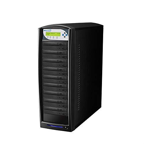 primera technology duplicators Vinpower 8 Target SharkNet Network Capable DVD CD Duplicator with 320GB HDD