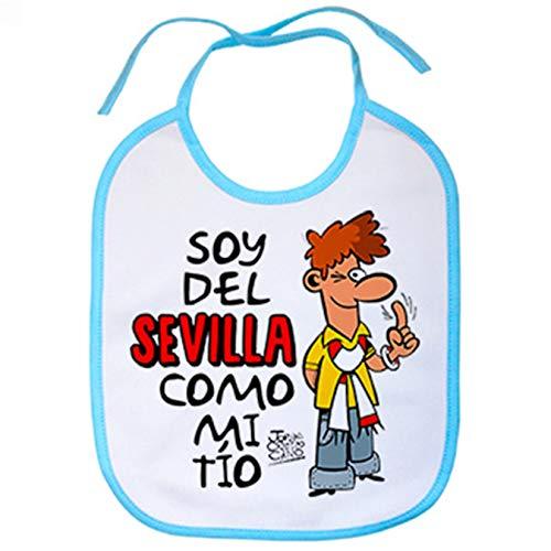 Babero soy del Sevilla como mi tio - Celeste