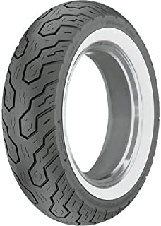 Dunlop K555 Rear Motorcycle Tire 170/80-15 (77H) Wide White Wall for Suzuki Boulevard M50 LTD VZ800Z 2007