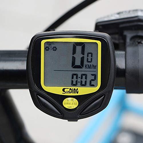 Velocímetro Digital Odômetro Sem Fio Bike Prova D'água 83