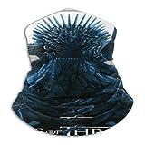 Bufanda de microfibra para el cuello, sin costuras, calentador térmico de juego de tronos-Posterspy diademas bandana, bufanda para la cabeza, para deportes al aire libre de invierno