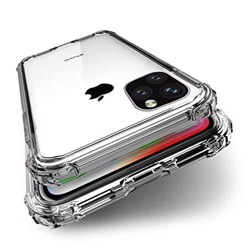 BENEFIQ iPhone 12 12Pro ケース クリア 耐衝撃 米軍MIL規格取得 透明 アイフォン ソフト カバー ワイヤレス充電 iPhone12 iPhone12Pro