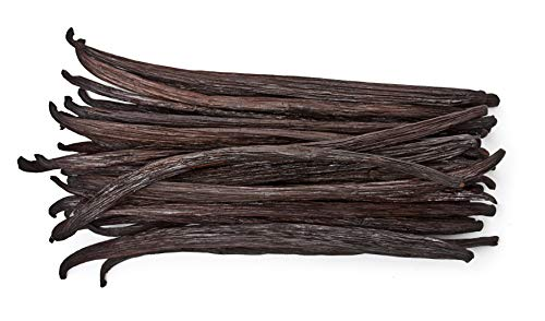 50 Vanilla Beans  Whole Extract Grade B Pods for Baking Homemade Extract Brewing Coffee Cooking  Tahitian