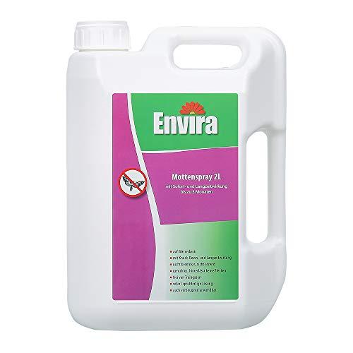 Envira Motten-Spray - Anti-Motten-Mittel Mit Langzeitwirkung - Geruchlos & Auf Wasserbasis - 2 Liter