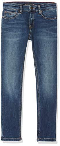Tommy Hilfiger Steve Slim Tapered Resbst Jeans, (Denim 1a5), 92 para Niños