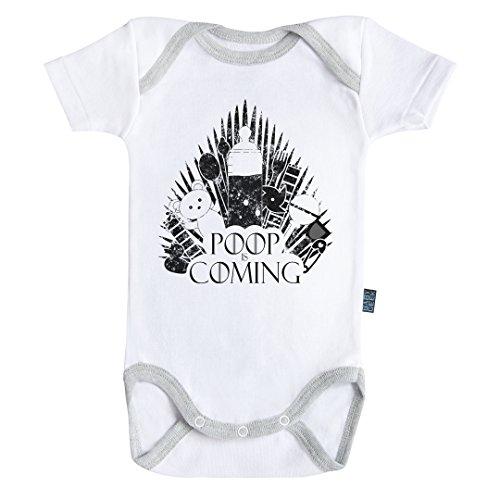 Baby Geek - Body Gris 12 Meses