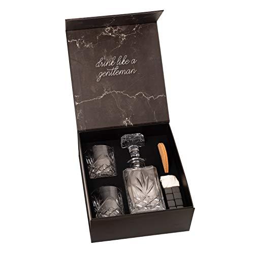 Cumbreca Set de regalo de piedras de whisky – Juego