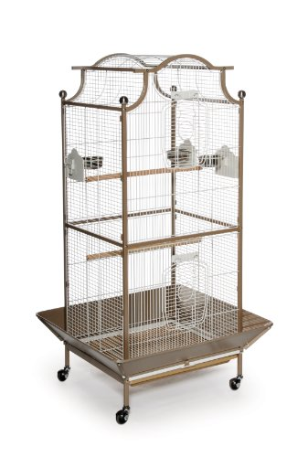 Prevue Pet Products Pagoda Cockatiel Cage, Coco and Cream
