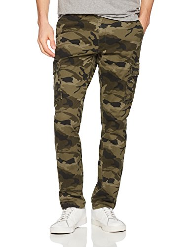 Goodthreads Men's Slim-Fit Vintage Cargo Pant, Camo, 30W x 30L