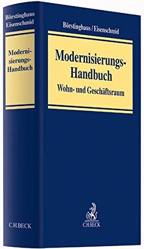 Modernisierungs-Handbuch: Wohn- und Geschäftsraum