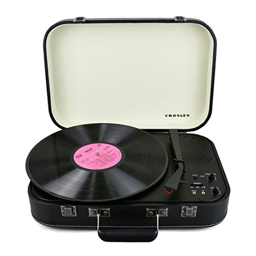 Crosley Coupe Bluetooth Plattenspieler, Schwarz