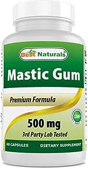 Best Naturals Mastic Gum 500 mg 60 Capsules