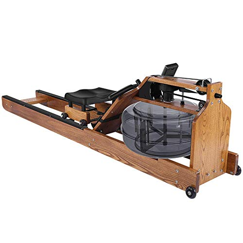 Water Boating White Oak Rowing Machine - with Monitor,aSH
