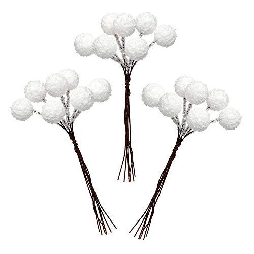 Palline di Neve Artificiali Baker Ross (confezione da 70) Progetti creativi e decorazioni natalizie per bambini