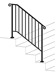Doing some home renos? Your husband will love this iron railing for your anniversary.