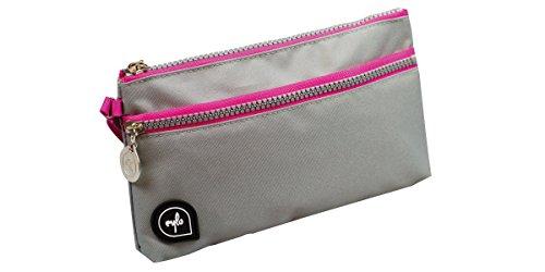 Umixx 736749 - eylo - Lo Case 3.2 Etui, grau / rosa
