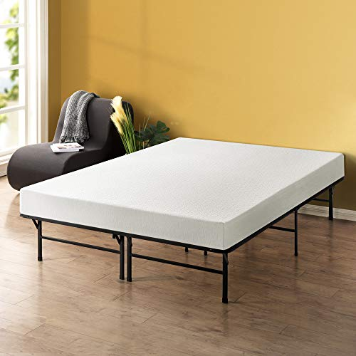Best Price Mattress - 8 Inch Memory Foam Mattress and 14 Inch Premium Steel Bed Frame/Platform Bed Set, Full