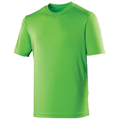 AWDis Cool - T-shirt - Homme - Vert - Electric Green - Large